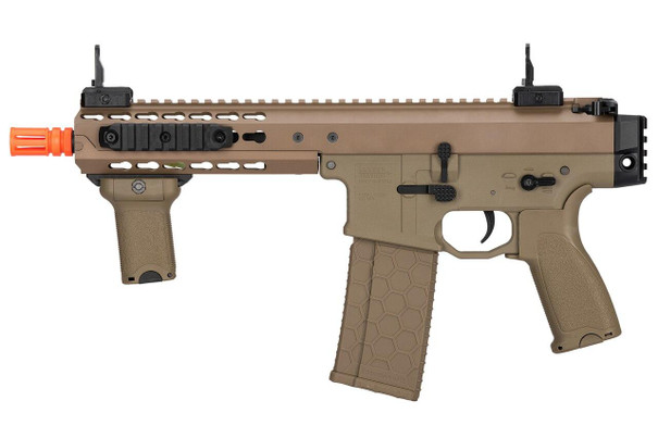 Lancer Tactical Warlord 8 Type C Airsoft SMG, Dark Earth