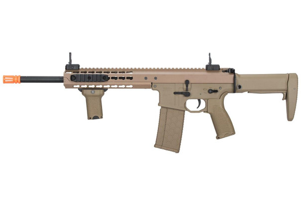 Lancer Tactical Warlord 10.5 Type B Carbine Airsoft Rifle, Low FPS Version, Dark Earth
