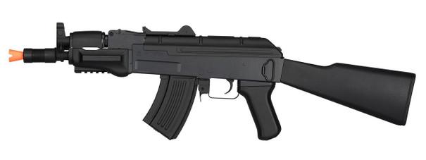 Lancer Tactical Metal AK47 Spetsnaz Airsoft Rifle, Black