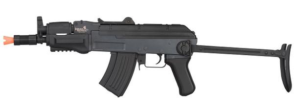 Lancer Tactical Metal AK47 Spetsnaz Airsoft Rifle w/ Folding Stock