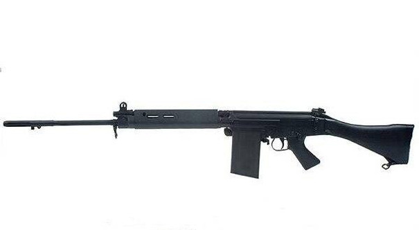Ares L1A1 SLR FAL Airsoft Rifle, Black