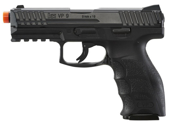 HandK VP9 Co2 Blowback Airsoft Pistol, Black