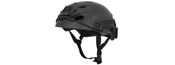 Special Forces Recon Tactical Helmet, Black