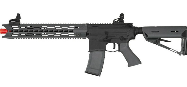 Valken ASL Series AEG Airsoft Rifle TRG, Black/Grey