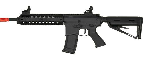 Valken ASL Series AEG Airsoft Rifle MOD-M, Black