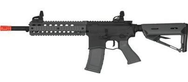 Valken ASL Series AEG Airsoft Rifle MOD-M, Black/Grey