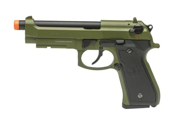 GandG GPM92 Gas Blowback Airsoft Pistol, Hunter Green