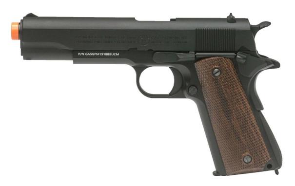 GandG GPM1911 Gas Blowback Airsoft Pistol, Black