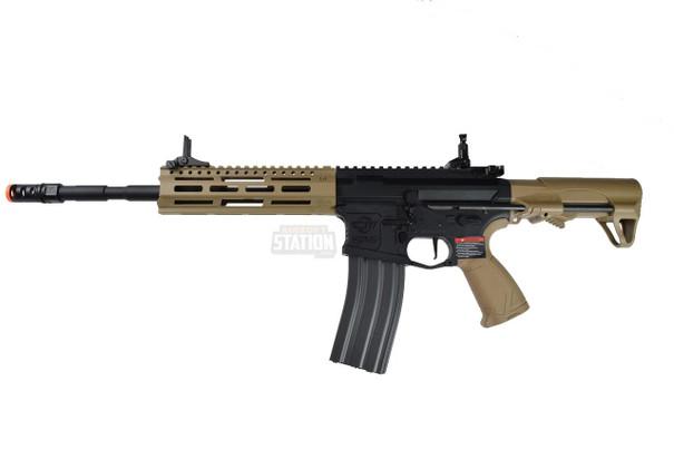 GandG CM16 Raider L 2.0 E AEG Airsoft Rifle, Desert Tan