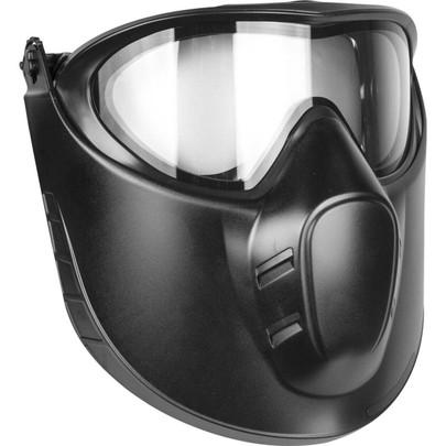 Valken VSM Thermal Goggles w/ Face Shield, Black, Clear Lens