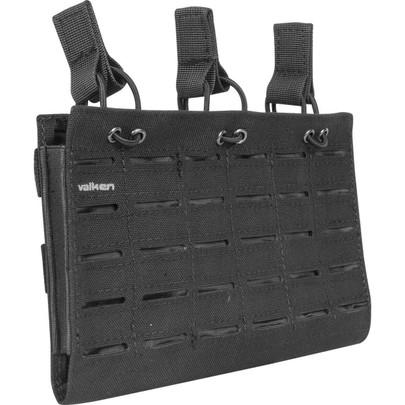 Valken Multi Rifle Triple Mag Pouch LC, Black