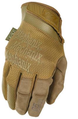 Mechanix Specialty 0.5mm High-Dexterity Tactical Gloves, Coyote
