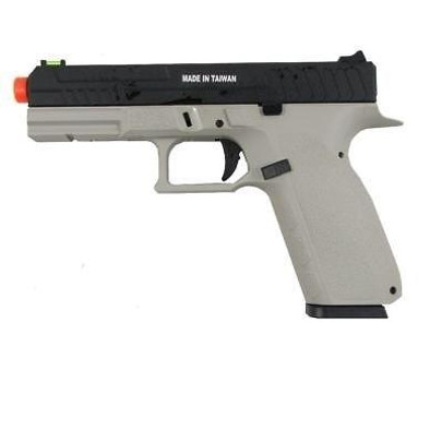 KJW KP13 Hi-Capa Tactical Gas/Co2 Blowback Pistol, Urban Grey