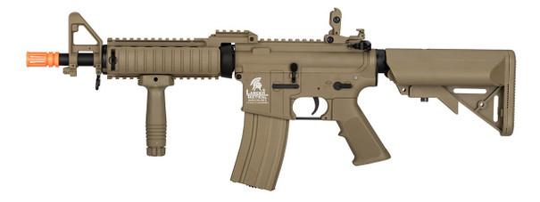 Lancer Tactical MK18 Nylon Polymer MOD0 Gen 2 Low FPS Version Airsoft Rifle, Tan