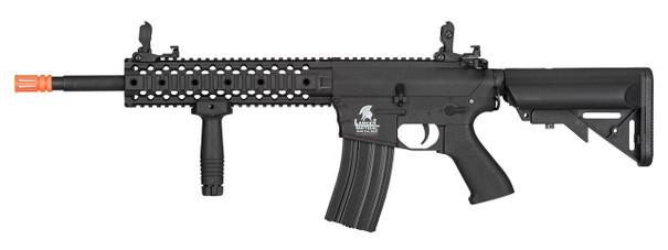 Lancer Tactical M4 RIS Carbine Gen 2 Airsoft Rifle, Black