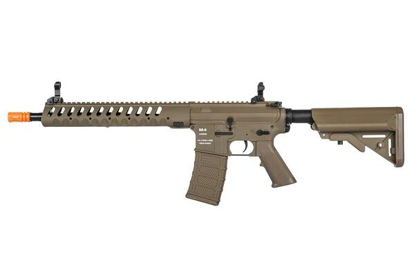 Classic Army Delta 12 Nylon Fiber AEG Airsoft Rifle w/ ECS, Dark Earth