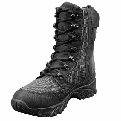 Altai 8 Side Zip Waterproof SuperFabric Mesh Tactical Boots, Black