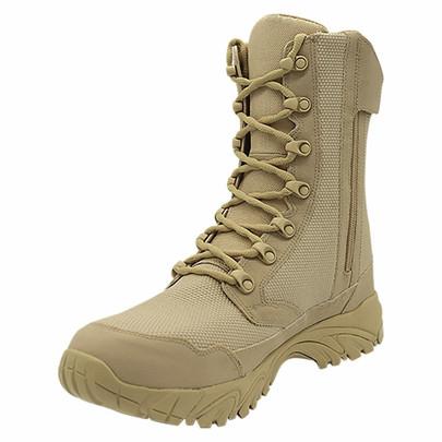 Altai 8 Side Zip Waterproof SuperFabric Mesh Tactical Boots, Tan