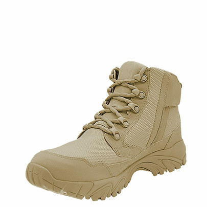 Altai 6 Side Zip Waterproof SuperFabric Mesh Tactical Boots, Tan