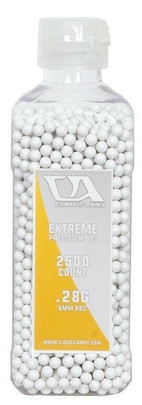 Classic Army 0.28g Extreme Precision Premium Airsoft BBs, 2500ct Bottle