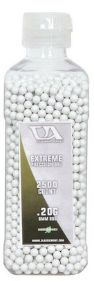 Classic Army 0.20g Extreme Precision Premium Biodegradable Airsoft BBs, 2500ct Bottle