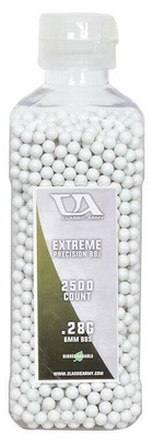 Classic Army 0.28g Extreme Precision Premium Biodegradable Airsoft BBs, 2500ct Bottle