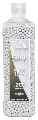 Classic Army 0.20g Extreme Precision Premium Biodegradable Airsoft BBs, 5000ct Bottle