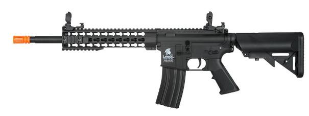 Lancer Tactical M4 10 Keymod AEG, Low FPS Version, Black