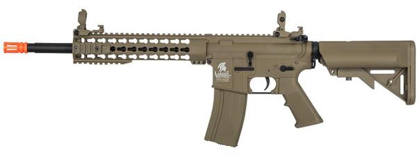 Lancer Tactical M4 10 Keymod AEG, Low FPS Version, Dark Earth