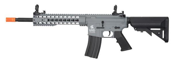 Lancer Tactical 10 Gen 2 Keymod AEG Airsoft Rifle, Grey