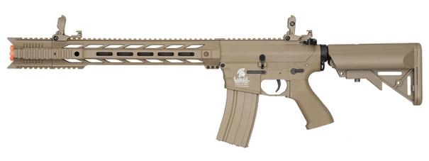Lancer Tactical Interceptor SPR Gen 2 Airsoft Rifle, Low FPS Version, Dark Earth
