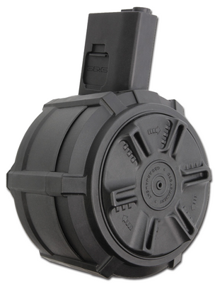 GandG 2300 Round Drum Mag for M4/M16, Auto Winding