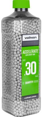 Valken Accelerate 0.30g BBs, 5000 CT, White