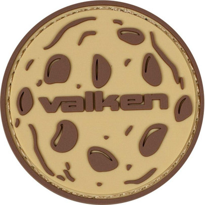 Valken Cookie 2 x 2 Morale Patch, Tan