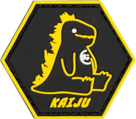 Valken Kaiju Hex 1.5 x 1.3 Morale Patch, Black