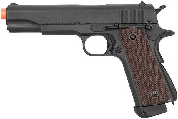 Double Bell Co2 Blowback Airsoft Pistol Type 1, High Velocity, Black