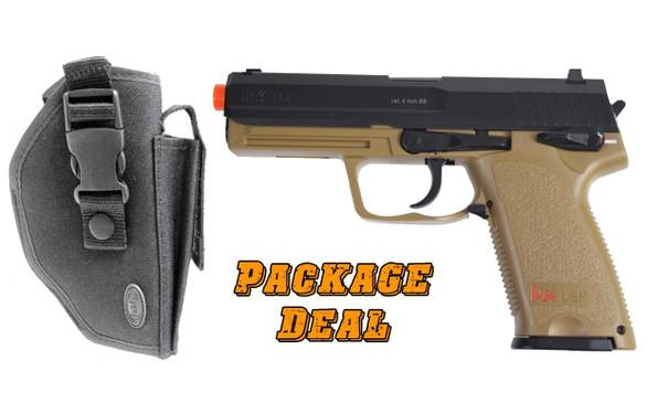 HandK USP Co2 Pistol and Holster Combo