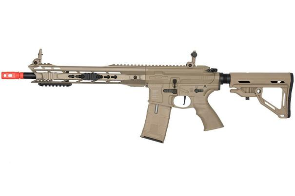 ICS ProLine CXP-MARS Carbine SSS Electric Blowback AEG Airsoft Rifle, Tan