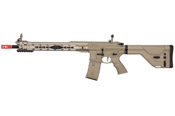 ICS ProLine CXP-MARS DMR Electric Blowback AEG Airsoft Rifle, Tan