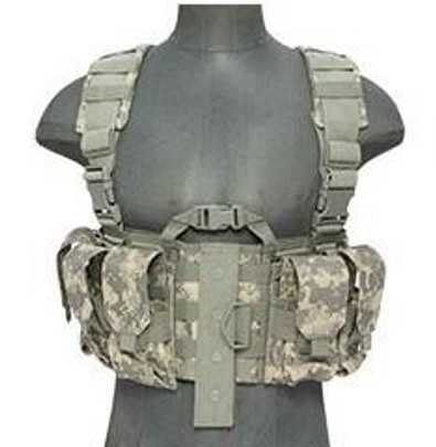 Lancer Tactical Nylon M4 Chest Harness, ACU
