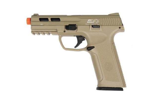 ICS BLE-XAE Gas Blowback Airsoft Pistol, Tan