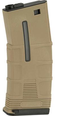 ICS T Tactical 120rd Mid-Cap Magazine, Tan