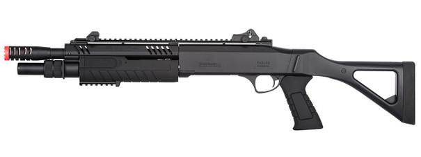 BO Manufacturer FABARM STF12 11 Barrel Pump Action Shotgun w/ Stock, Black