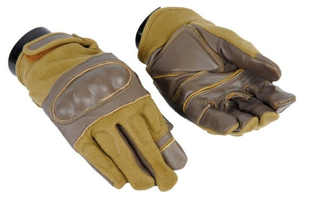 Coyote Hard Knuckle Gloves