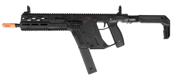 Krytac KRISS USA Licensed Kriss Vector Limited Edition Airsoft AEG Rifle, Black