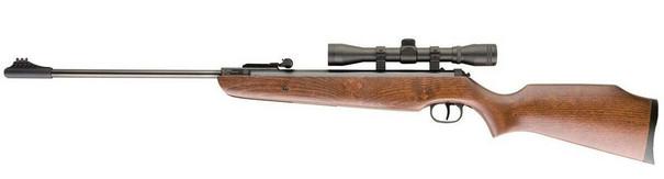 UMAREX Ruger Fire Hawk .177 Air Rifle w/ Scope, Wood