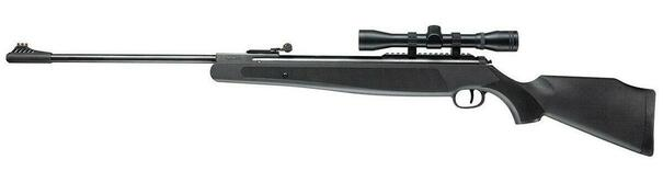 UMAREX Ruger Air Magnum .22 Air Rifle w/ Scope, Black