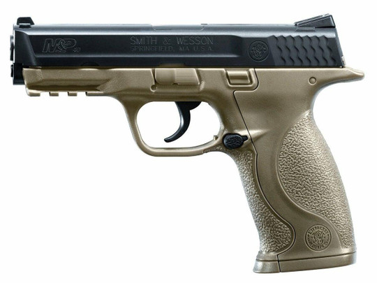 UMAREX Smith and Wesson MandP .177 Airgun, Dark Earth Brown
