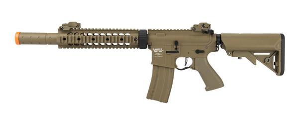 Lancer Tactical M4 SD Proline Series 9 Rail High FPS Rifle, Tan