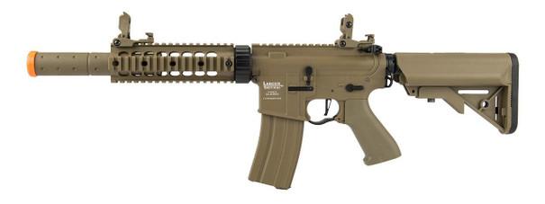 Lancer Tactical M4 SD Proline Series 7 Rail Low FPS Airsoft Rifle, Tan